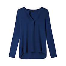 Buy Gérard Darel Long Sleeved T-Shirt, Blue Online at johnlewis.com
