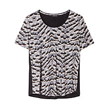 Buy Gérard Darel Knitted T-Shirt, Grey Online at johnlewis.com