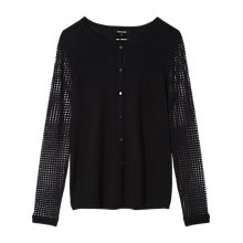 Buy Gérard Darel Wool Knitted Cardigan, Black Online at johnlewis.com