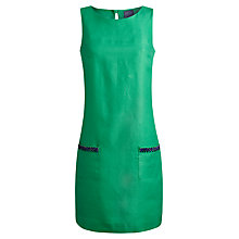 Buy Joules Beaded Shift Dress, Spring Green Online at johnlewis.com