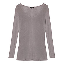 Buy Gérard Darel Knitted Jumper, Grey Online at johnlewis.com