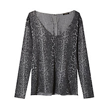 Buy Gérard Darel Menthe Jumper, Grey Online at johnlewis.com
