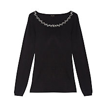 Buy Gérard Darel Knitted Jumper, Black Online at johnlewis.com