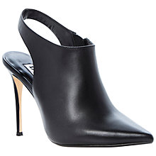 Buy Dune Celena Leather High Heel Shoe Boots Online at johnlewis.com