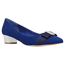 Buy Carvela Kite Suedette Bow Pumps Online at johnlewis.com