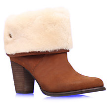 Buy UGG Layna Suede Ankle Boots Online at johnlewis.com
