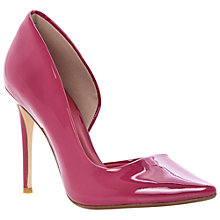 Buy Dune Cerina Patent Leather High Heel Court Shoes Online at johnlewis.com