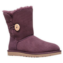 Buy UGG Bailey Twinface Button Boots, Port Online at johnlewis.com