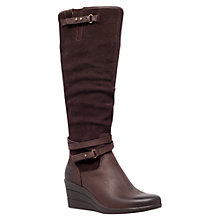 Buy UGG Lesley Leather Knee High Boots Online at johnlewis.com