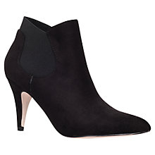 Buy Carvela Tiger Microfibre Ankle Boots Online at johnlewis.com