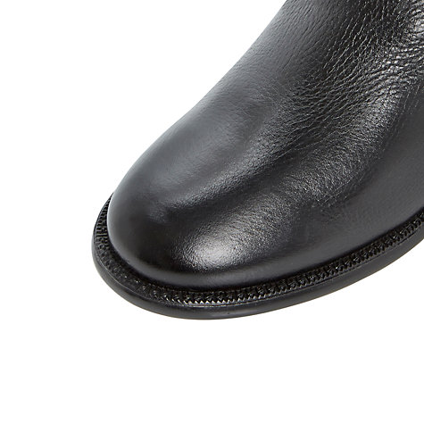 Buy Dune Torz Leather Knee High Boots Online at johnlewis.com