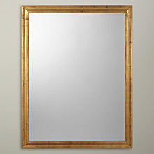 Buy John Lewis Rectangle Mirror, Gold Online at johnlewis.com