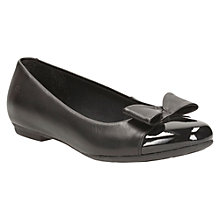 Buy Clarks Abitha Gem Patent Cap Pumps, Black Online at johnlewis.com