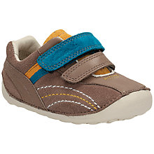 Buy Clarks Children's Dexton Paw Trainers, Brown Online at johnlewis.com