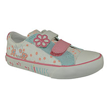 Buy Clarks Gracie Ears Polka Dot Pumps, Cream/Multi Online at johnlewis.com
