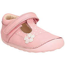 Buy Clarks Children's Little Linzi Shoes, Pale Pink Online at johnlewis.com