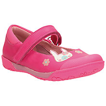 Buy Clarks Children's Nibbles Shoes, Pink Online at johnlewis.com