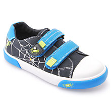 Buy Start-rite Incy Spider Canvas Shoes, Blue Online at johnlewis.com