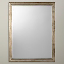 Buy John Lewis Rectangle Mirror, Champagne Online at johnlewis.com