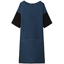 Buy Gérard Darel Rainette Dress, Petrol Blue Online at johnlewis.com
