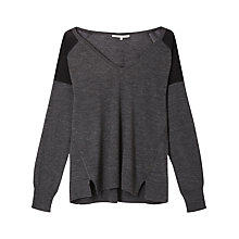 Buy Gérard Darel Wool Knitted Jumper, Grey Online at johnlewis.com