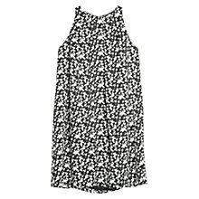 Buy Mango Monochrome Print Dress, Black Online at johnlewis.com