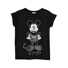 Buy Mango Disney T-shirt, Black Online at johnlewis.com