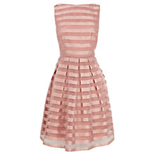 Buy Coast Liv Stripe Dress, Dusky Pink Online at johnlewis.com