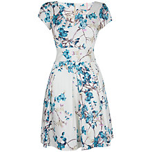 Buy Almari V-Neck Print Full Dress, Multi Online at johnlewis.com