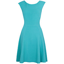 Buy Almari Waffle Panel Dress, Green Online at johnlewis.com