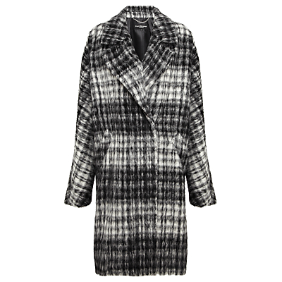Four Seasons Check Wrap Coat