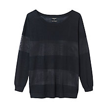 Buy Gérard Darel Wool Jumper, Black Online at johnlewis.com