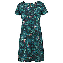 Buy Fat Face Tonal Rose Dress, Peacock Online at johnlewis.com