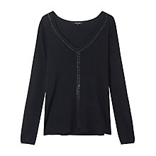 Buy Gérard Darel Stud Knitted Jumper Online at johnlewis.com