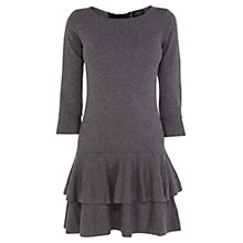 Buy Coast Petite Caitlyn Dress, Grey Melange Online at johnlewis.com