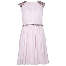 Buy Ted Baker Beaded Detail Dress, Shell Online at johnlewis.com