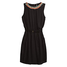 Buy Mango Beaded Crepe Dress Online at johnlewis.com
