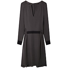 Buy Gérard Darel Silk Dress, Grey Online at johnlewis.com
