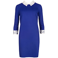 Buy Ted Baker Lace Collar Tunic Dress Online at johnlewis.com