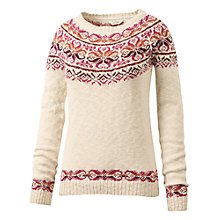 Buy Fat Face Fairisle Yoke Jumper Online at johnlewis.com