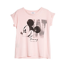 Buy Mango Disney T-shirt, Medium Pink Online at johnlewis.com
