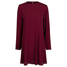 Buy Mango Long Sleeve Keyhole Detail Dress Online at johnlewis.com