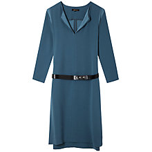 Buy Gérard Darel Rae Dress, Petrol Blue Online at johnlewis.com