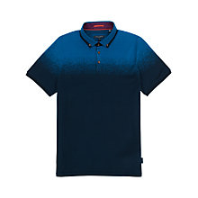 Buy Ted Baker Klovis Ombre Jacquard Polo Shirt Online at johnlewis.com