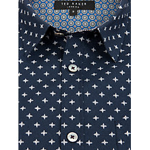 Buy Ted Baker Intricate Cross Print Shirt Online at johnlewis.com