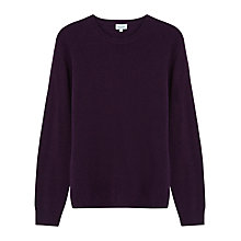 Buy Jigsaw Soft Wool Cashmere Mixed-Gauge V Neck Jumper Online at johnlewis.com