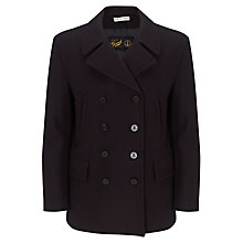 Buy Gloverall Churchill Reefer Coat, Navy Online at johnlewis.com
