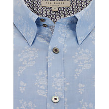 Buy Ted Baker Teatime Floral Jacquard Print Shirt Online at johnlewis.com