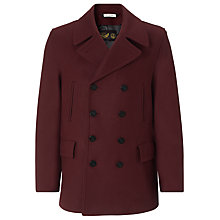 Buy Gloverall Churchill Reefer Coat Online at johnlewis.com