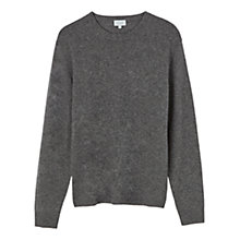 Buy Jigsaw Wool Cashmere Mixed Gauge Crew Neck Jumper Online at johnlewis.com